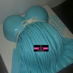 3D Nappy Bag Cake