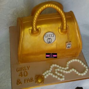 3D Gucci Bag Cake