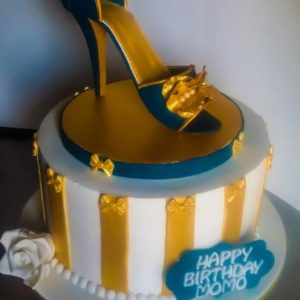 High Heel Topper Cake