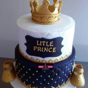 Royal Baby Shower Cake