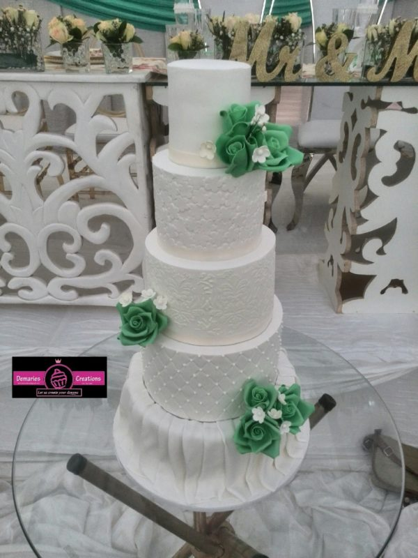5tier Wedding Cake