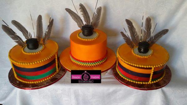 Edible Print tradition Wedding Cake