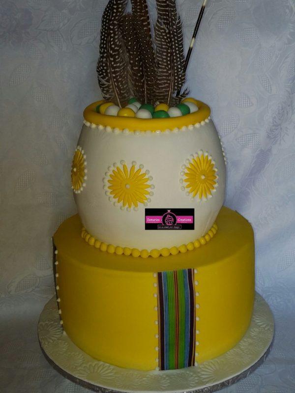 Munwenda Traditional Wedding Cake